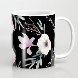 Magnolias, Eucalyptus & Anemones Coffee Mug