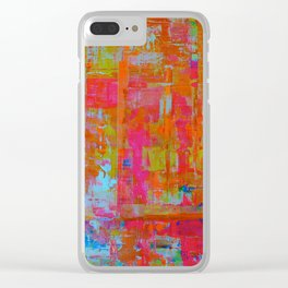 Alegria 1 -Dyptich Clear iPhone Case