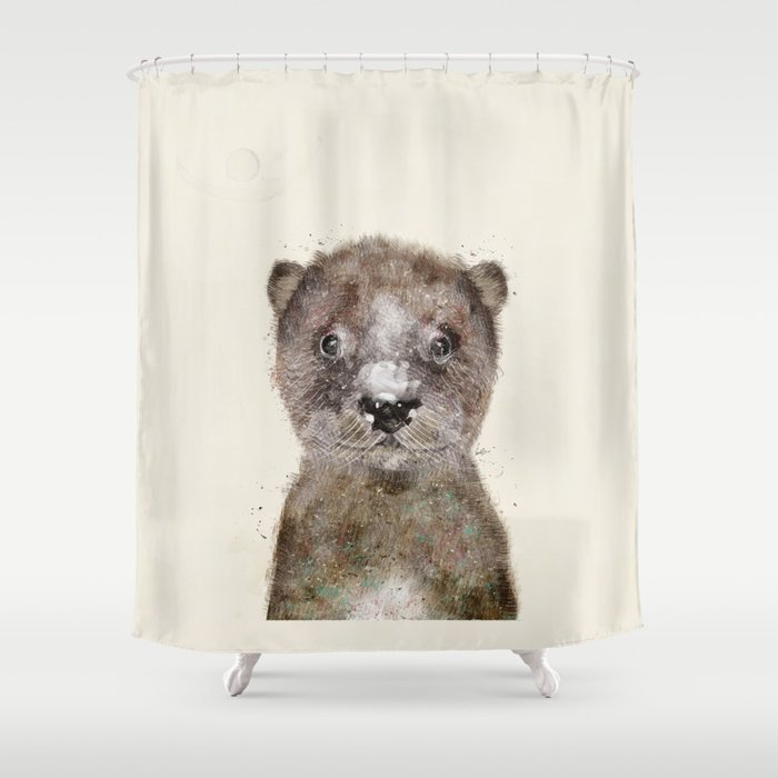 Little Otter Shower Curtain