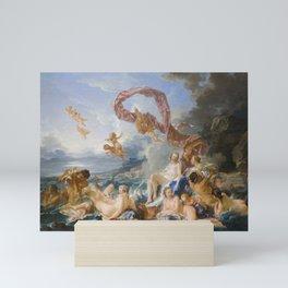 The Triumph of Venus by Francois Boucher, 1740 Mini Art Print