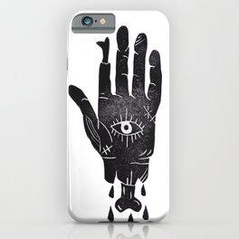 Creepy Hand iPhone Case