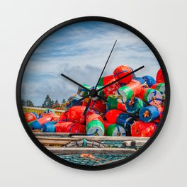 End of the season Wall Clock