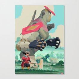 Pelle and Shovel Canvas Print