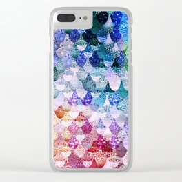 REALLY MERMAID FUNKY Clear iPhone Case