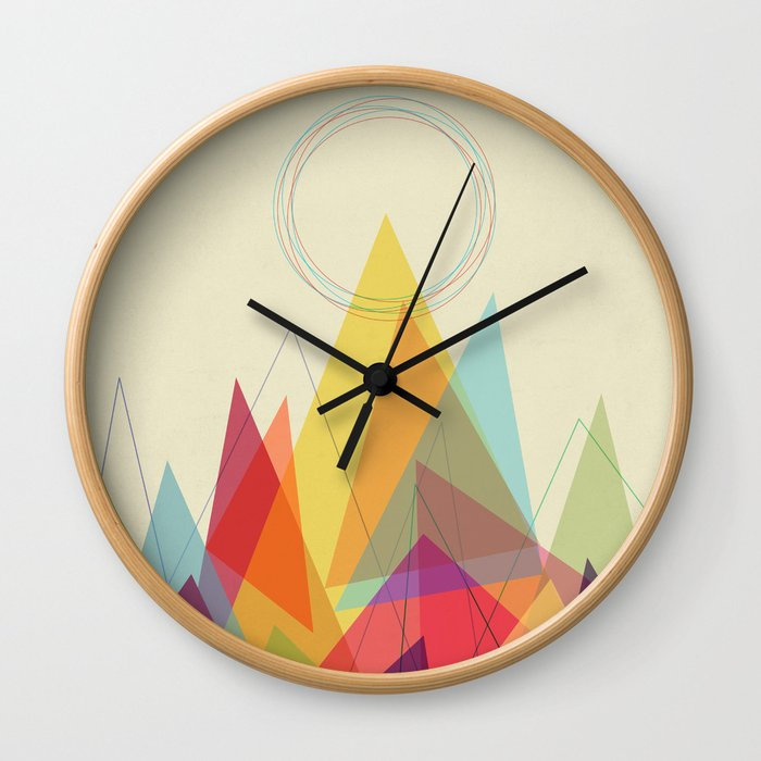 Holy Mountain Wall Clock