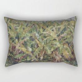 Renoir - Field of Banana Trees, 1881 Rectangular Pillow