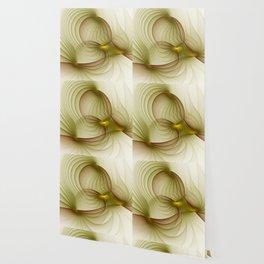 Precious Metal, Abstract Fractal Art Wallpaper