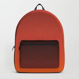 Brown orange gradient Backpack
