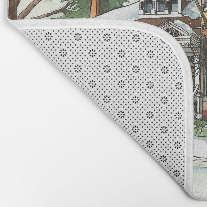 Victorian House in The Avenues Bath Mat