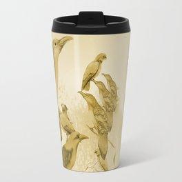 Sweet Li'l Aussie Birds (fawn) Travel Mug
