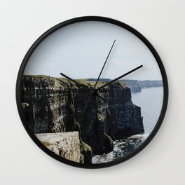 The Cliffs of Moher II Wall Clock