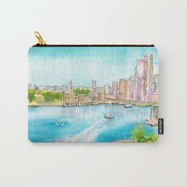 A Colorful Twist on Sydney Harbour Carry-All Pouch