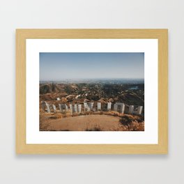 Hollywood Framed Art Print