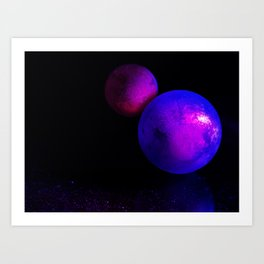 Space bodies Art Print