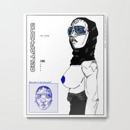 cellophane Metal Print