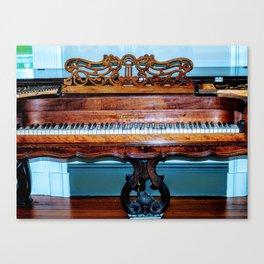 Plantation Piano Canvas Print