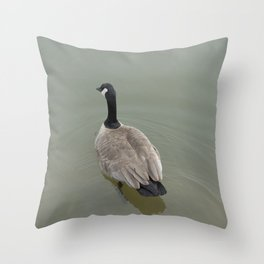 Swimming Away Throw Pillow