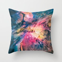 The awesome beauty of the Orion Nebula  Throw Pillow