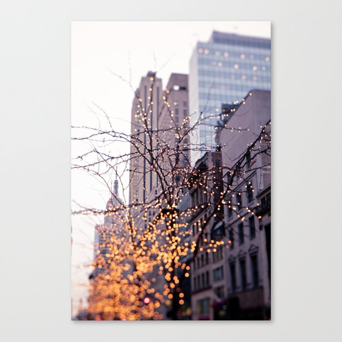 It was a magical morning Canvas Print