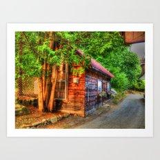 Cottage Life Art Print