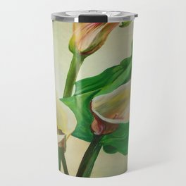 Three Calla Lilies Travel Mug