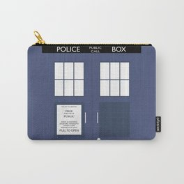 Smaller On The Outside Tardis Carry-All Pouch