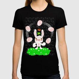 Juggling Rabbit T-shirt