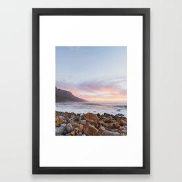 Standard Cape Town Framed Art Print