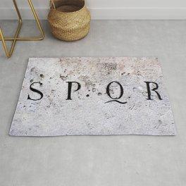 SPQR, Senatus Populus que Romanus Rug