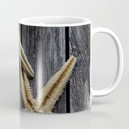 Starfishes in wooden Coffee Mug