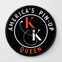 America's Pin-Up Queen Wall Clock