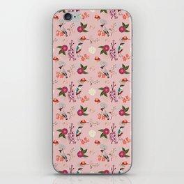 Eastern delight Japanese garden, pink. iPhone Skin