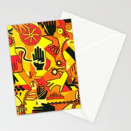 Hand Hazards Stationery Cards
