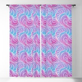 Swirl y Cotton Candy Blackout Curtain