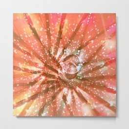 Abstract Disco Metal Print