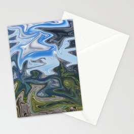 Skies from Above Stationery Cards