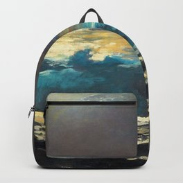 Winslow Homer1 - Sunlight On The Coast - Digital Remastered Edition Backpack