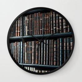 bibliotheque Wall Clock