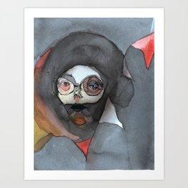 amelia bedelia might killia by lisa g bauer Art Print