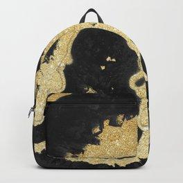 Black & Golden Agate Backpack