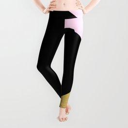 Color Block Glam Triangles Leggings