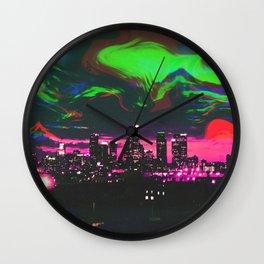 Wavvy LA - RG_Glitch Series Wall Clock