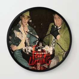 The Real Fear and Loathing in Las Vegas Wall Clock