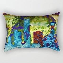 Snakes of the City Rectangular Pillow