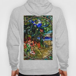 Louis Comfort Tiffany - Decorative stained glass 19. Hoody