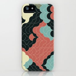 Abstract Geometric Artwork 92 iPhone Case