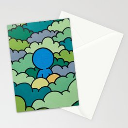 Mimetic threesome Stationery Cards