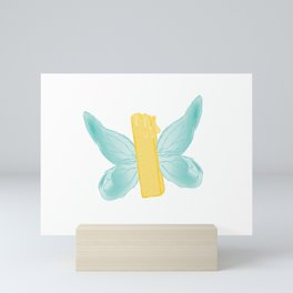 BUTTER-FLY Mini Art Print