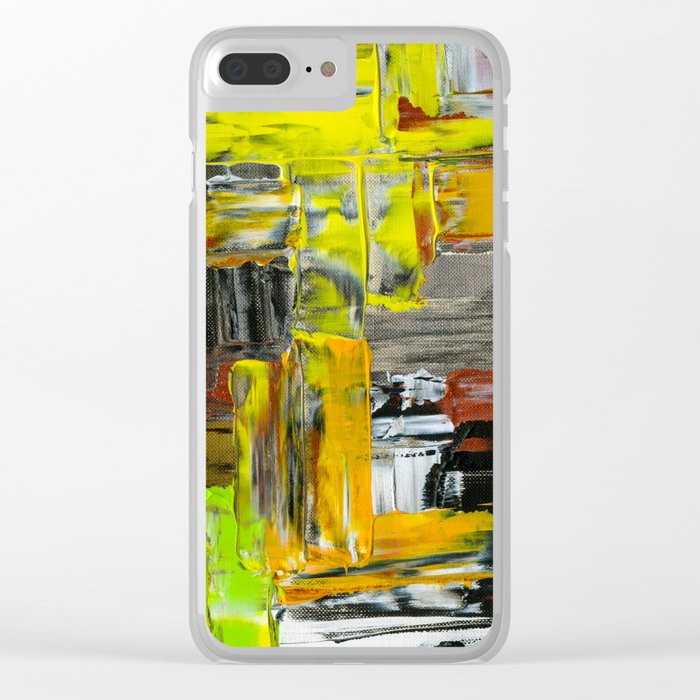 chaotic neutral Clear iPhone Case