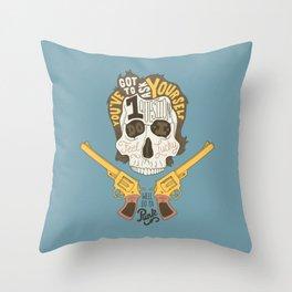 Do ya Punk? Throw Pillow